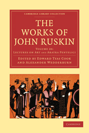 Cambridge Library Collection - Works of  John Ruskin