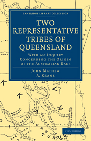 Two Representative Tribes of Queensland