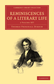 Reminiscences of a Literary Life 2 Volume Set