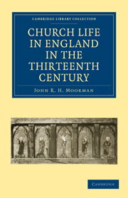 Church Life in England in the Thirteenth Century