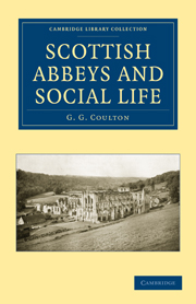 Scottish Abbeys and Social Life