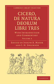 Cicero, De Natura Deorum Libri Tres