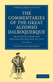 The Commentaries of the Great Afonso Dalboquerque, Second Viceroy of India
