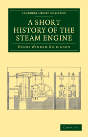 Short history steam engine engineering design kinematics and short history steam engine engineering design kinematics and robotics cambridge university press fandeluxe Gallery