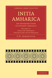 Initia Amharica