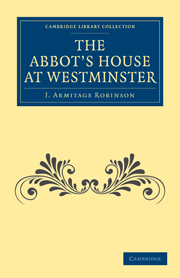 The Abbot's House at Westminster