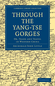 Through the Yang-tse Gorges