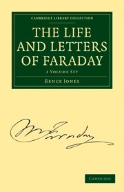 The Life and Letters of Faraday