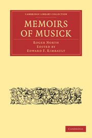Memoirs of Musick