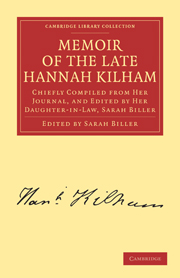 Memoir of the Late Hannah Kilham