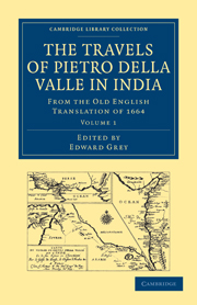 Travels of Pietro della Valle in India