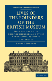 Lives of the Founders of the British Museum