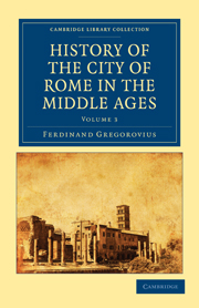 History of the City of Rome in the Middle Ages