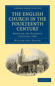 The English Church in the Fourteenth Century