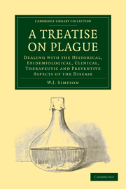 A Treatise on Plague