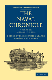 Cambridge Library Collection - Naval Chronicle