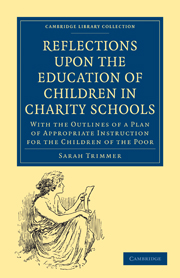Reflections upon the Education of Children in Charity Schools