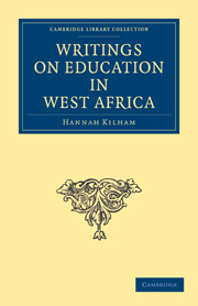 Writings on Education in West Africa