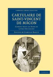 Cartulaire de Saint-Vincent de Mâcon