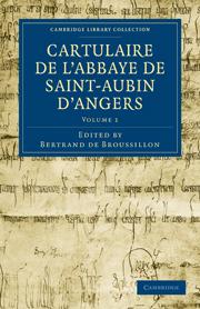 Cartulaire de l'Abbaye de Saint-Aubin d'Angers