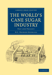 The World's Cane Sugar Industry