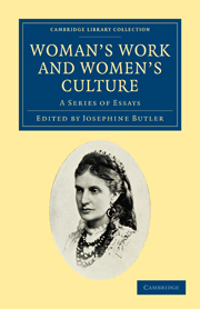Woman's Work and Woman's Culture