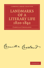 Landmarks of a Literary Life 1820–1892