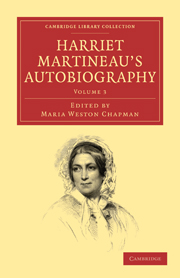 Harriet Martineau's Autobiography (Volume 1) Harriet Martineau