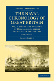 The Naval Chronology of Great Britain