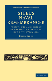 Steel's Naval Remembrancer