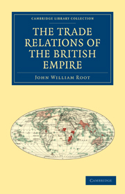 The Trade Relations of the British Empire