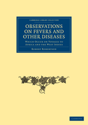 Observations on Fevers and Other Diseases