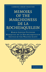 Memoirs of the Marchioness de La Rochejaquelein