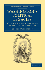 Washington's Political Legacies