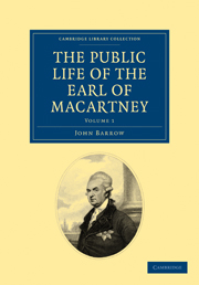 The Public Life of the Earl of Macartney