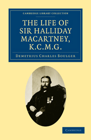 The Life of Sir Halliday Macartney, K.C.M.G.