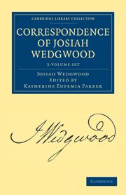 Correspondence of Josiah Wedgwood