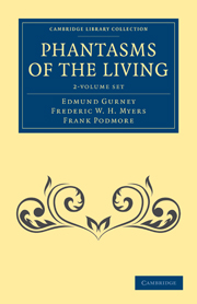 Phantasms of the Living 2 Volume Set