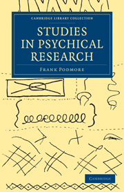Studies in Psychical Research