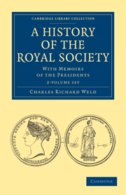A History of the Royal Society