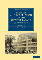 History and Description of the Crystal Palace