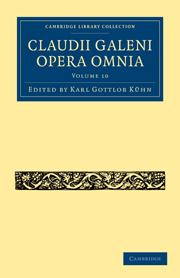 Claudii Galeni Opera Omnia