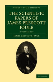 The Scientific Papers of James Prescott Joule
