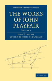 The Works of John Playfair