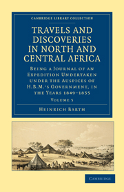 Travels and Discoveries in North and Central Africa