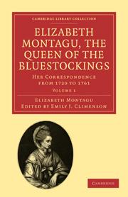 Elizabeth Montagu, the Queen of the Bluestockings
