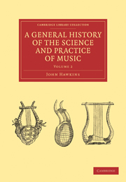 A General History of the Science and Practice of Music