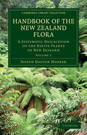 Handbook of the New Zealand Flora