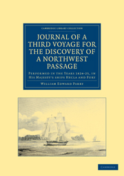 Journal of a Third Voyage for the Discovery of a Northwest Passage from the Atlantic to the Pacific