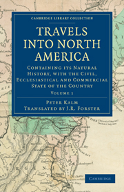 Travels into North America
